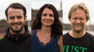 NT:s VM-panel: Andreas Bellander (BKV Norrtälje), Sarah Lindberg (Rimbo IF), Christer Mesch (Hallsta IK).