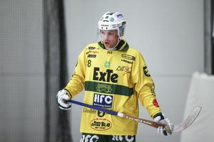 Marcus Wikman stortrivs i Ljusdal där han har en betydligt friare roll än under sina år i Bollnäs.