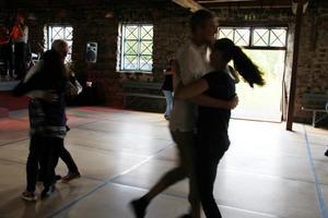 En nyhet var att även den stora delen av bruksstallet, där man brukar ha konserter, användes för dans. Här kunde man dansa gammeldans.