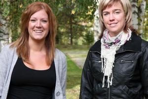 En utredning tar tre-fyra dagar att göra hos oss. Själva rehabiliteringen kan sträcka sig från en vecka upp till fyra veckor, säger Sofie Berglén och Christin Jonsson.