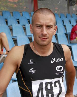Stefan Tärnhuvud vann finalen på 100 meter.