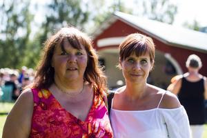 Eva Fahlberg, projektledare, och Maria Åman, Vaduvill kulturförening.
