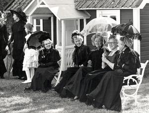 Esther Tillander, Inga Ral, Märta Engström, Brita Schubert, Edith Åhs.