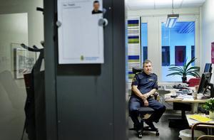 Per Thelin, förundersökningsledare vi Östersundspolisen.