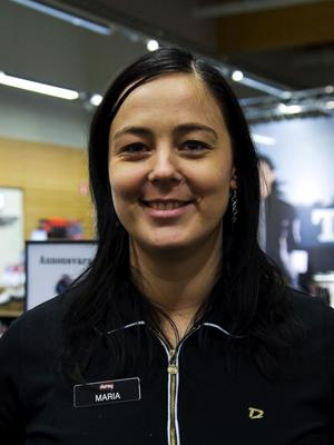 Maria Brostedt, butikschef för Dormy.