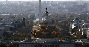 Vita huset är under attack. Igen. Foto: Sony pictures