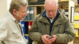 – Det är ovanligt många hemvändare i år, säger Lasse Johansson vid Gårds- och säterarkivet Gosa.   En av dem är Lars Sandberg som har lämnat många gamla bilder till Gosa.