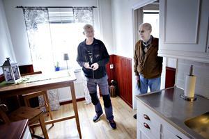 Bengt Jansson och Uno Eriksson pratar bostadsprisutveckling,