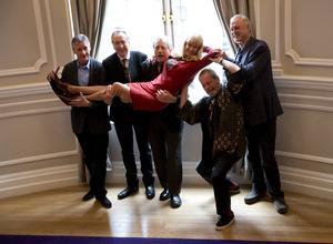 Monty Python återförenas för sista gången.