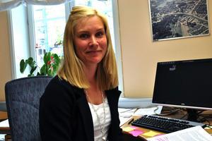 Säters kommuns folkhälsoplanerare Malin Lilja Altörn laddar för