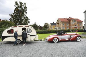 37 nätter har Leif och Siv Nilsson spenderat i husvagnen den här sommaren.