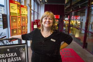 Biografchefen Elisabeth Eng Åkerlund ser fram emot biohögtiden.