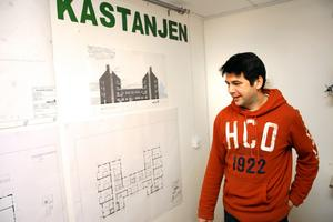 Enhetschef Frank Juppe ser fram emot att flytta in verksamheten i Kastanjen.