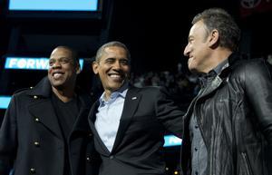 Obama har många kända vänner och flera av dem väntas dyka upp på fredag. Arkivbild.Foto: Carolyn Kaster