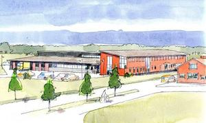 Högskolans forskningshus kan stå klart nästa sommar.