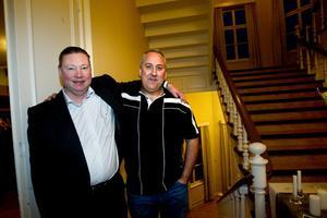 Christer Simrén, VD, hyllade i går Örjan Sving och andra idésprutor på Korsnäs.