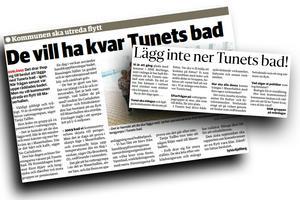Moderaterna vill nu utreda en försäljning av Tunets bad.