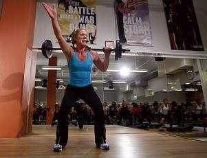 Att träna bodypump ger energi.