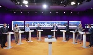 Debattörerna uppmanar Sveriges partiledare och andra ansvariga ledande opinionsbildare att vara noga med fakta och inte sprida falska uppgifter. För demokratins skull. Foto Henrik Montgomery/TT