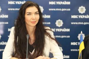 Ukrainas biträdande inrikesminister Tetiana Kovalchuk. Foto: EUAM, EU:s rådgivande mission i Ukraina.