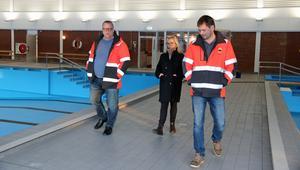 Jan Helghe, Johanna Skottman och Thony Eriksson.