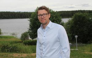 Christian Höijer ägnar sig vid sidan av arbetet gärna åt konditionsidrott som triathlon.