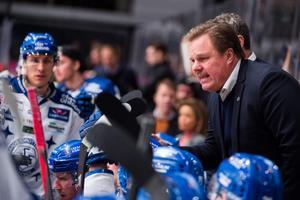 Leif Carlsson håller Timrå som favorit i den hockeyallsvenska finalen.Foto: Simon Hastegård/Bildbyrån