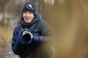 Björn Lans är till vardags projektledare på Föreningsalliansen i Bollnäs. Det är en verksamhet där man tar emot begagnade fritidsutrustningar, snyggar till dem för att sedan låna ut dem till privatpersoner.