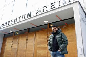 I framtiden hoppas dejtingkonsulten Mohammad Arvan kunna arrangera en gigantisk speeddejting på Conventum arena i Örebro.