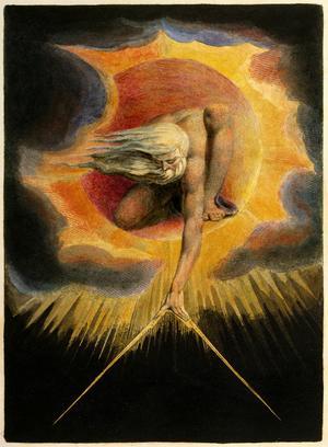William Blakes sätt att kombinera sin poesi med starkt fantasifulla bilder har inspirerat Ellen Nordmark i hennes skapande.