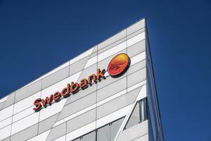 Swedbank är i blåsväder. Foto: Lars Pehrson/TT