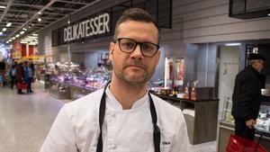Viktor Angmo, driftschef för färskvaror på Ica Maxi i Borlänge, säger att cateringförsäljningen har ökat med 40 procent de senaste två åren.