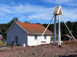 Det var troligen kapellet i Norrfällsviken och detta fiskeläge som Agrell skrev om 1847. Foto: Uno Gradin.