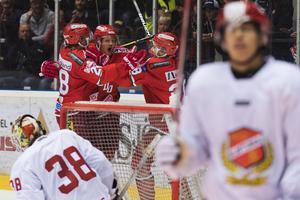Modo och Almtuna möts för fjärde gången den här säsongen. Bild:  Jonas Forsberg/Bildbyrån