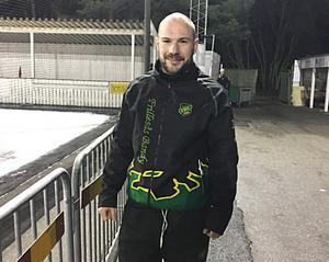 Matchens lirare i hemmalaget – Fredrik Brandin satte två synnerligen läckra bandymål när Frillesås kryssade (2–2) hemma mot Broberg.
