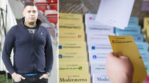 Valdeltagandet i Södertälje minskar. Nu är Assyriska FF skeptiska till demokratiberedningens beslut att neka föreningen bidrag på grund av en skuld. Foto: Peter Hoffström/LT & Hanna Franzen/TT