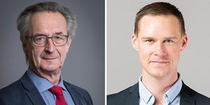 Tomas Högström (M)  och Mikael Andersson Elfgren (M)  Oppositionsråd, Region Västmanland.