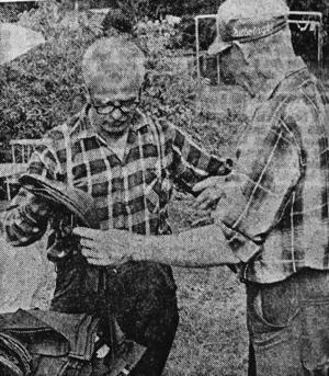 Ur en artikel i ÖP 1971. Erik säljer sitt
