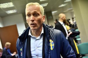 Håkan Sjöstrand kan glädjas av 80 miljoner skäl för den svenska VM-platsen. Foto: Jonas Ekströmer (TT).