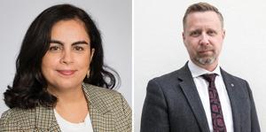 Talla Alkurdi (S) och Patrik Isestad (S).