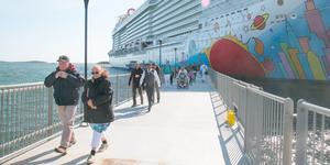 2019 blir ett rekordår för kryssningsturismen i Nynäshamn. Turisterna kommer till våren, men Stockholms Hamnar är redan i gång med förberedelserna.
