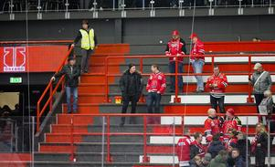Det är inte roligt att vara Örebrosupporter just nu. Bild: Johan Bernström/Bildbyrån