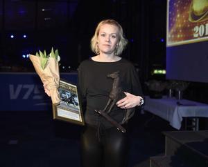Årets hästskötare 1: Madelene Johansson. Foto:Christer Norin/ALN