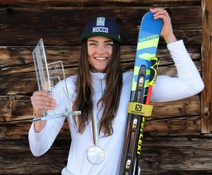 Alexandra Edebo vann Europacupen i år. Foto: Marie-Therese Edebo
