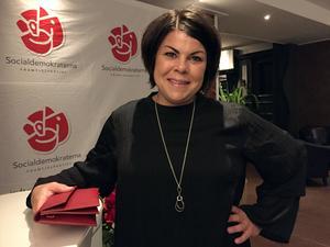 Malin Larsson (S) från Stöde ser ut att ta klivet in i riksdagen: