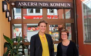 Politikerna Caroline Dieker (M) och Siv Ahlstrand (S).