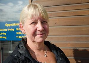 Pia Lehnberg, 61, undersköterska, Sundsvall