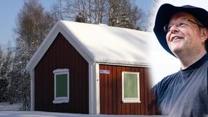 Lars-Arne Eriksson är glad över bidraget som möjliggör satsningar vid det gamla torpet i Söråker. Bilden är ett montage.