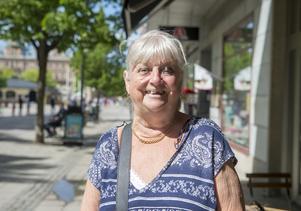 Inger Olsson, 81 år, pensionär, Skönsmon: