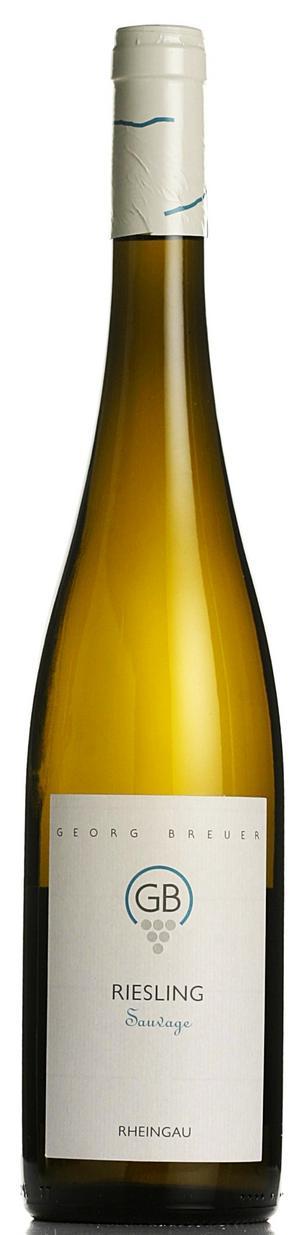 Fyndriesling. Den ständigt fyndmarkerade torra tysken Georg Breuer Riesling Sauvage knep flest röster av alla vita viner i ordinarie sortimentet.